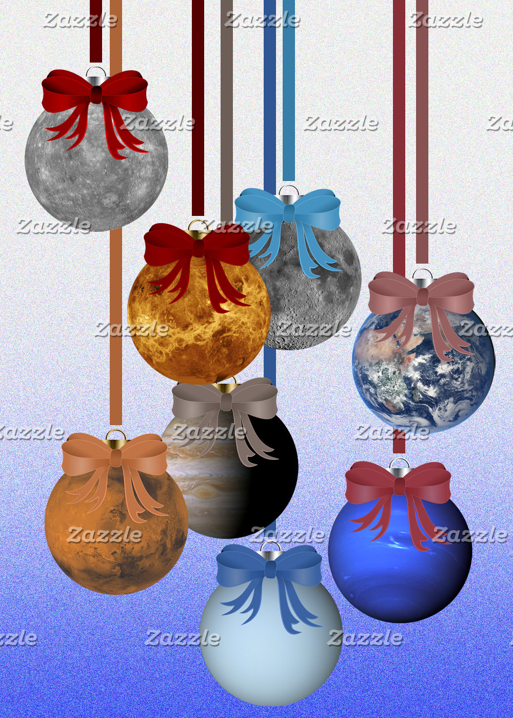 Planetary Ornaments