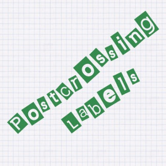 Postcrossing Labels