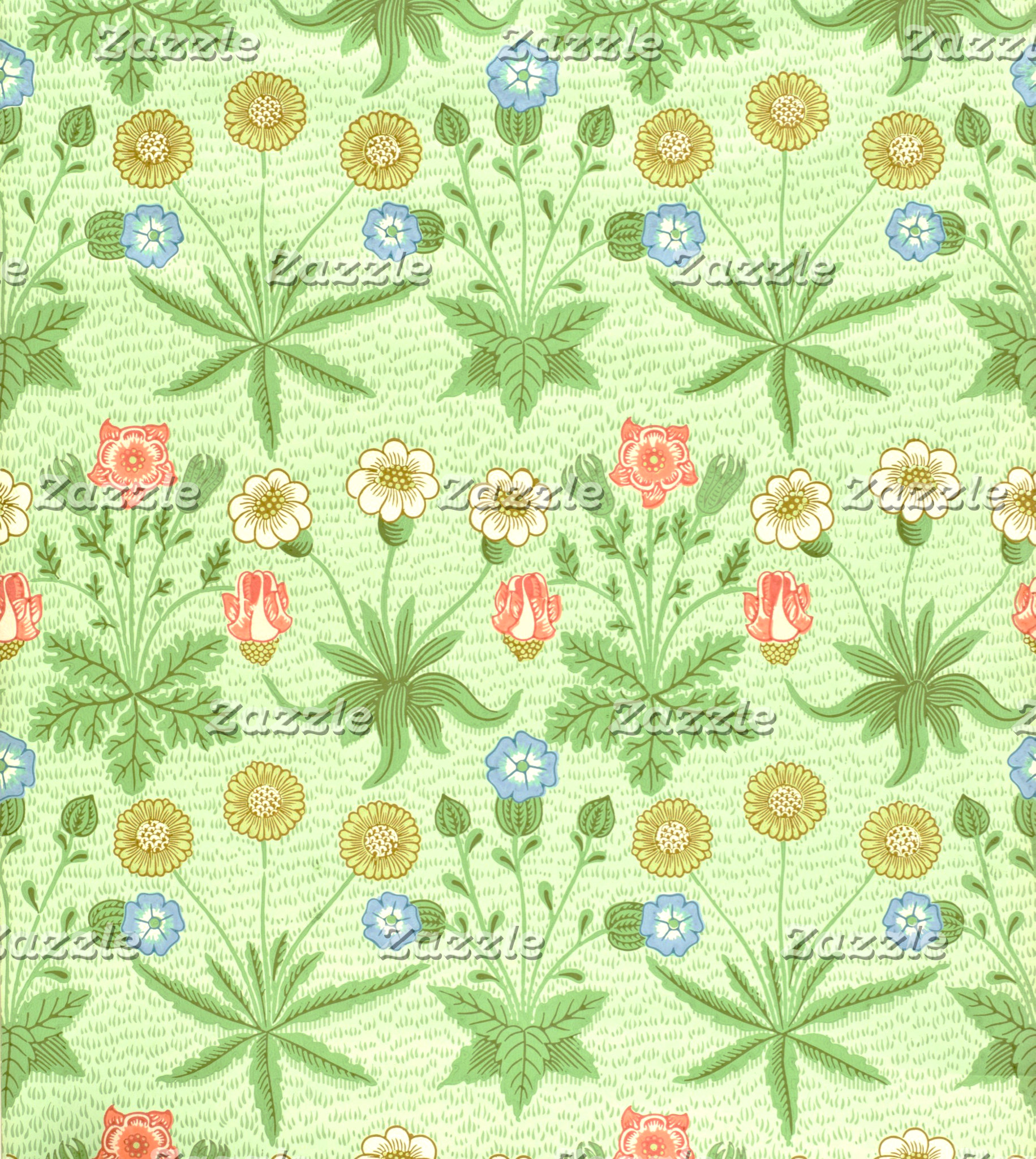 William Morris Daisy Pattern