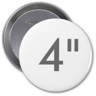 """4"""" ZAZZLE Buttons HUGE"""