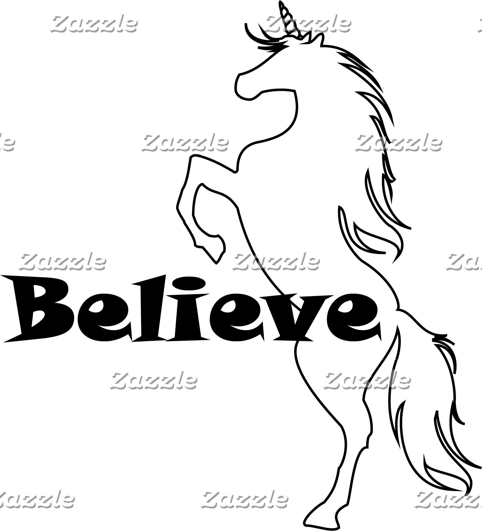 Unicorn Believe Design