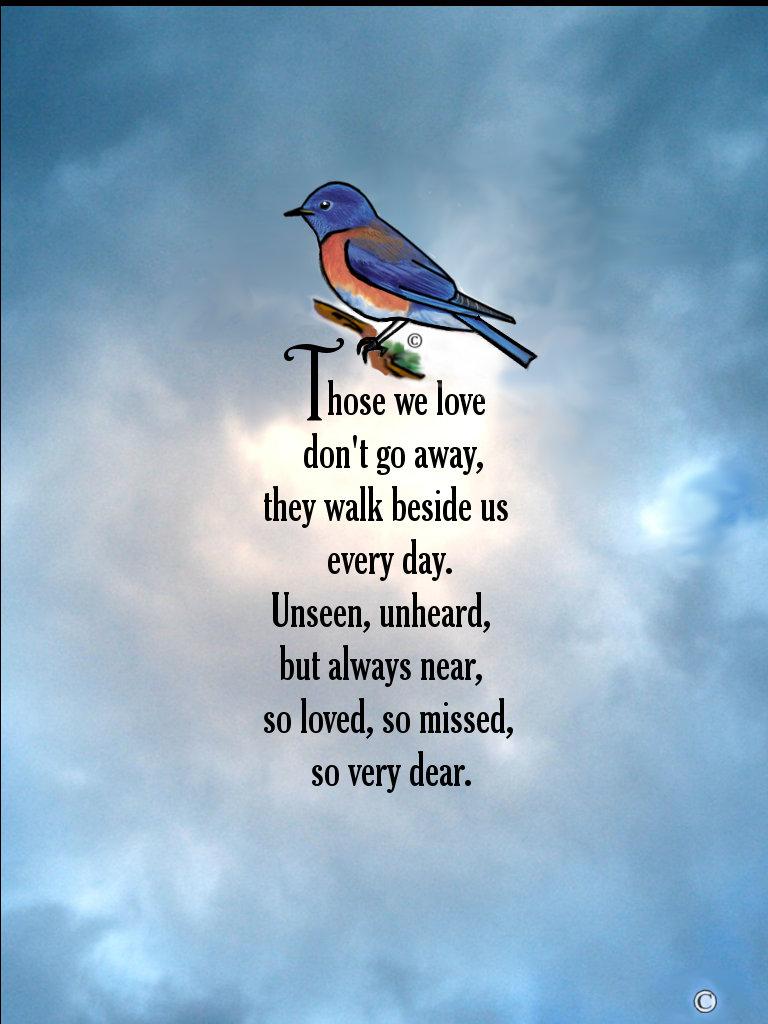"""Bluebird """"So Loved"""" Poem"""