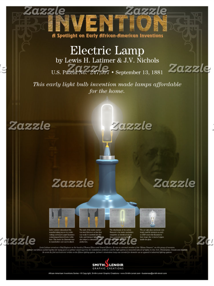 African-American Inventions Posters