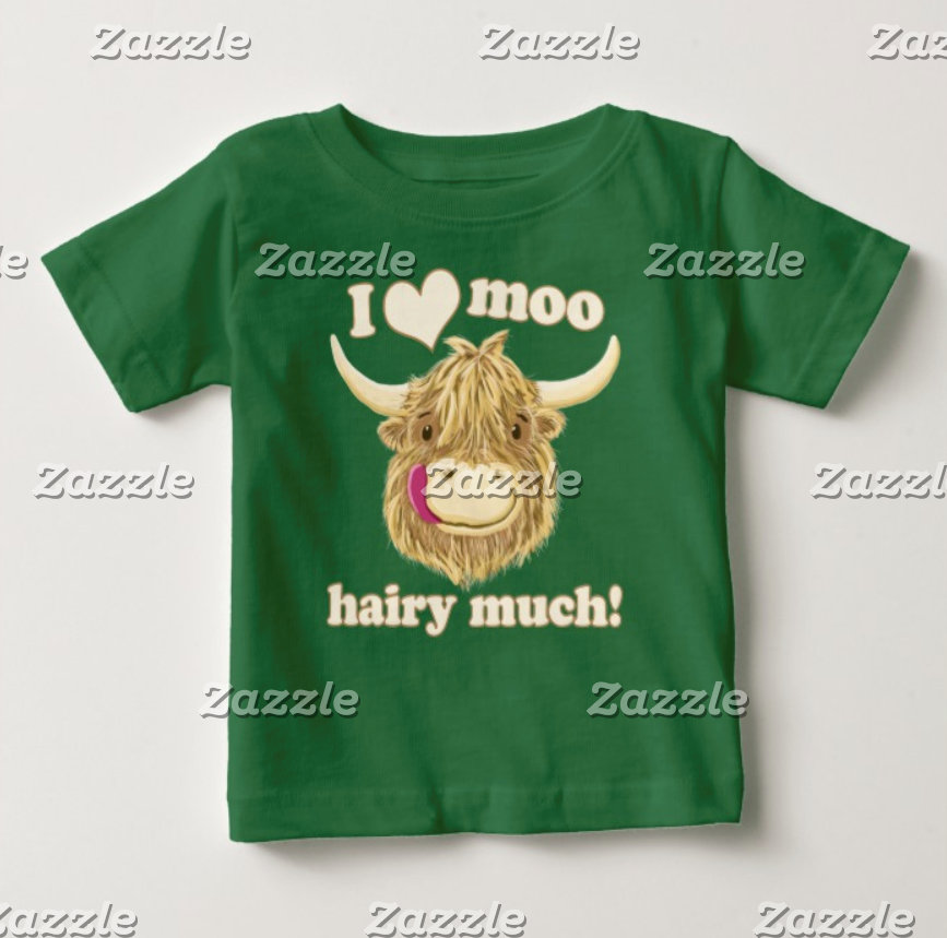 I Love Moo Hairy Much!