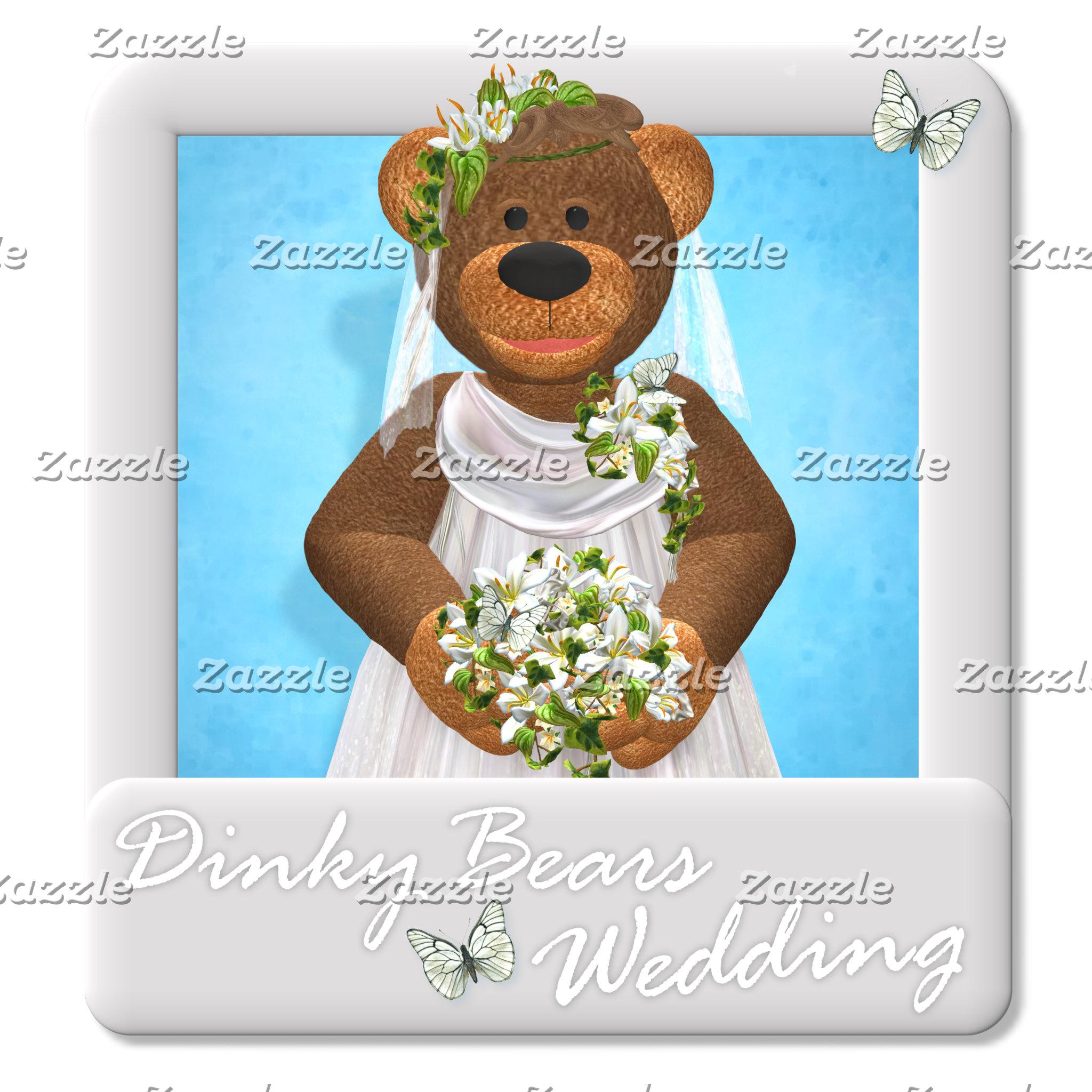 Dinky Bears Wedding