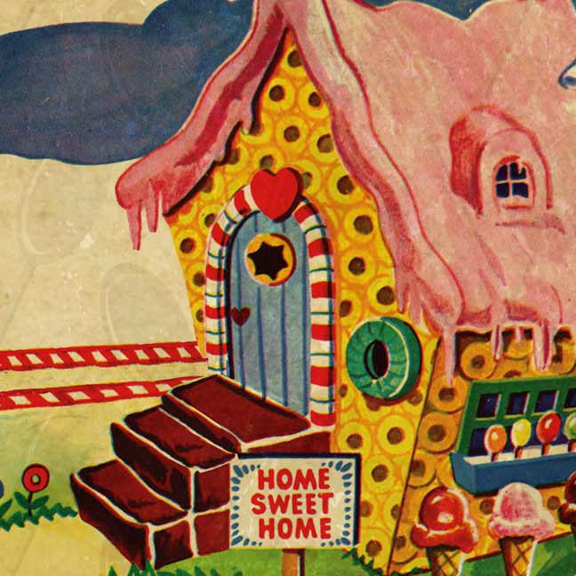 Candy Land Ginger Bread House