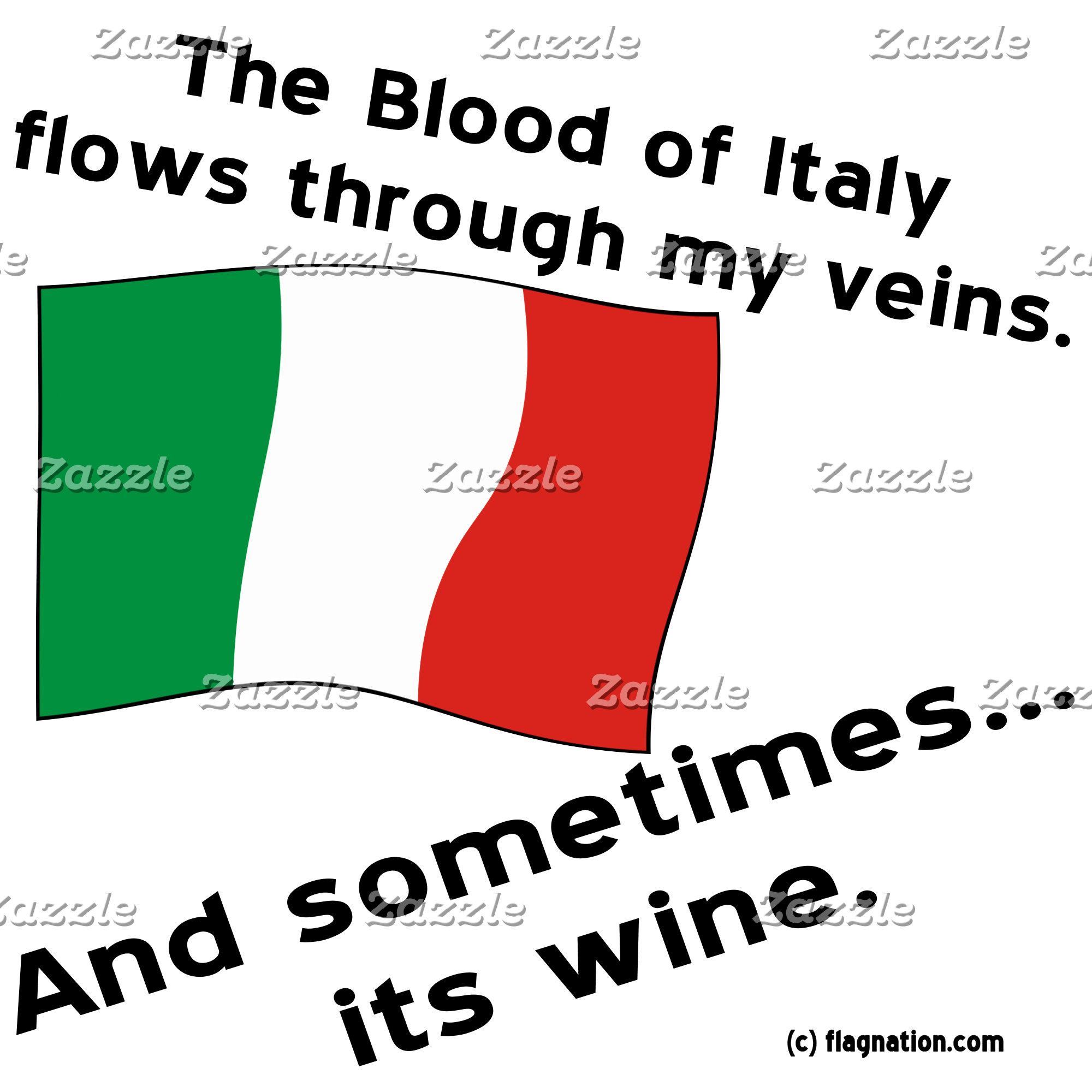 Italy Blood Wine