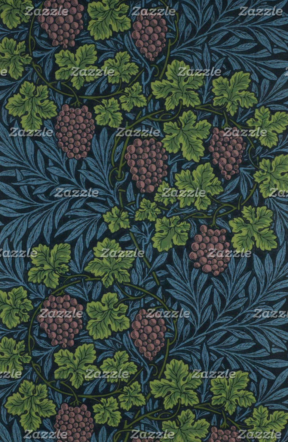William Morris Vine Design