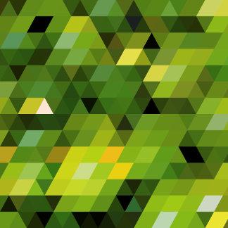 Geometric Patterns   Green triangles