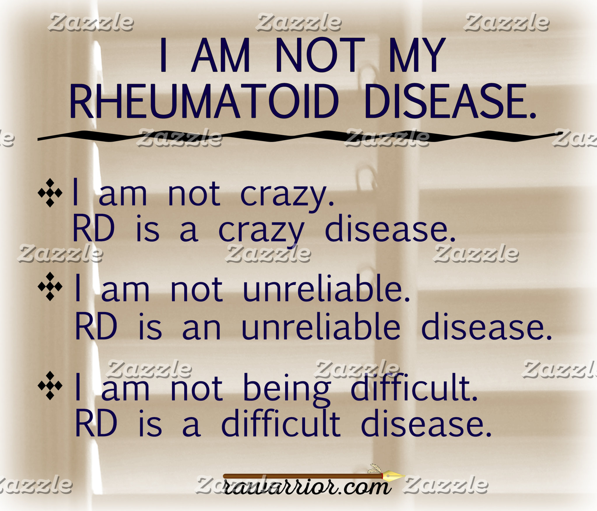I am not my RD