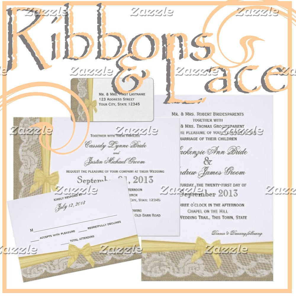 Ribbons and Lace
