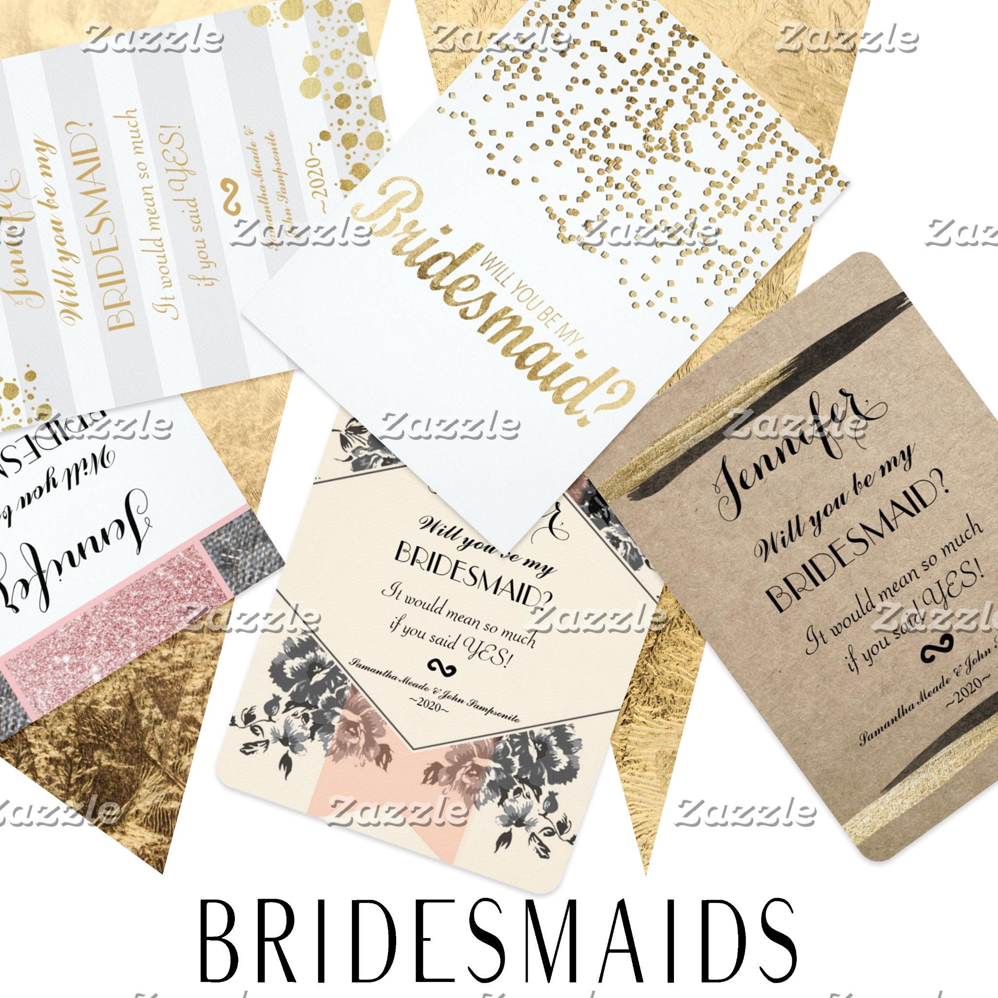 Bridesmaids Invitations