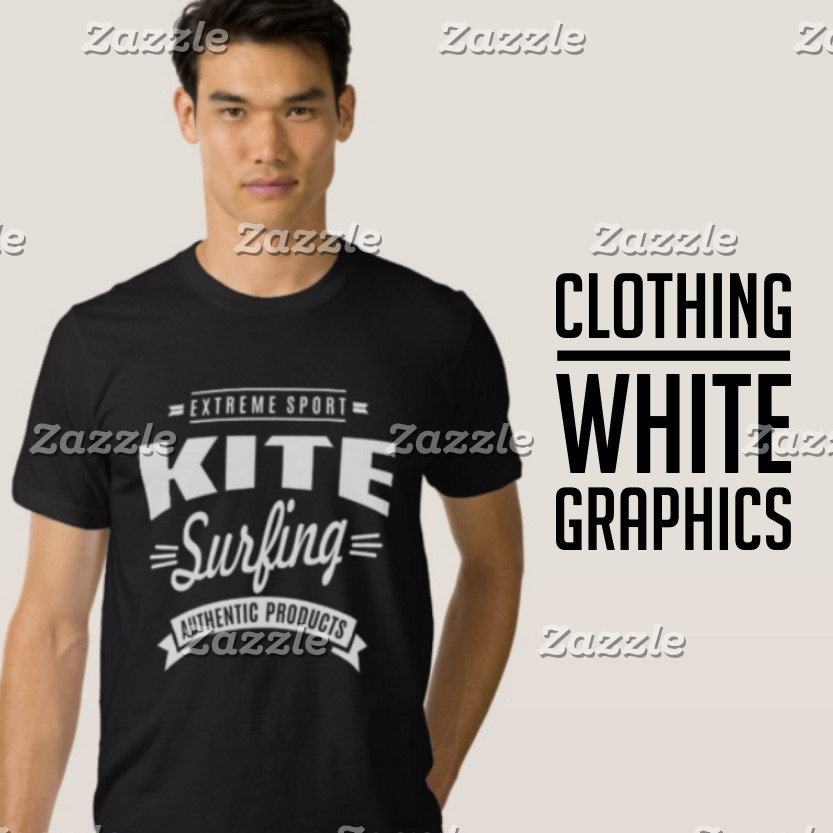 White Graphic Clothing