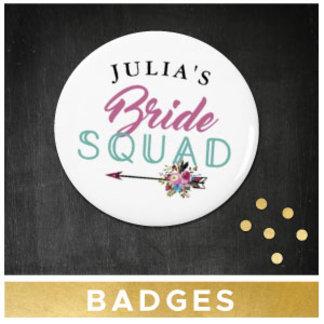 Bridal Shower Badges