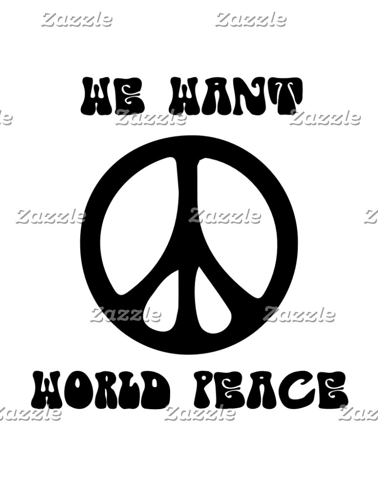 Hippies & peace & love