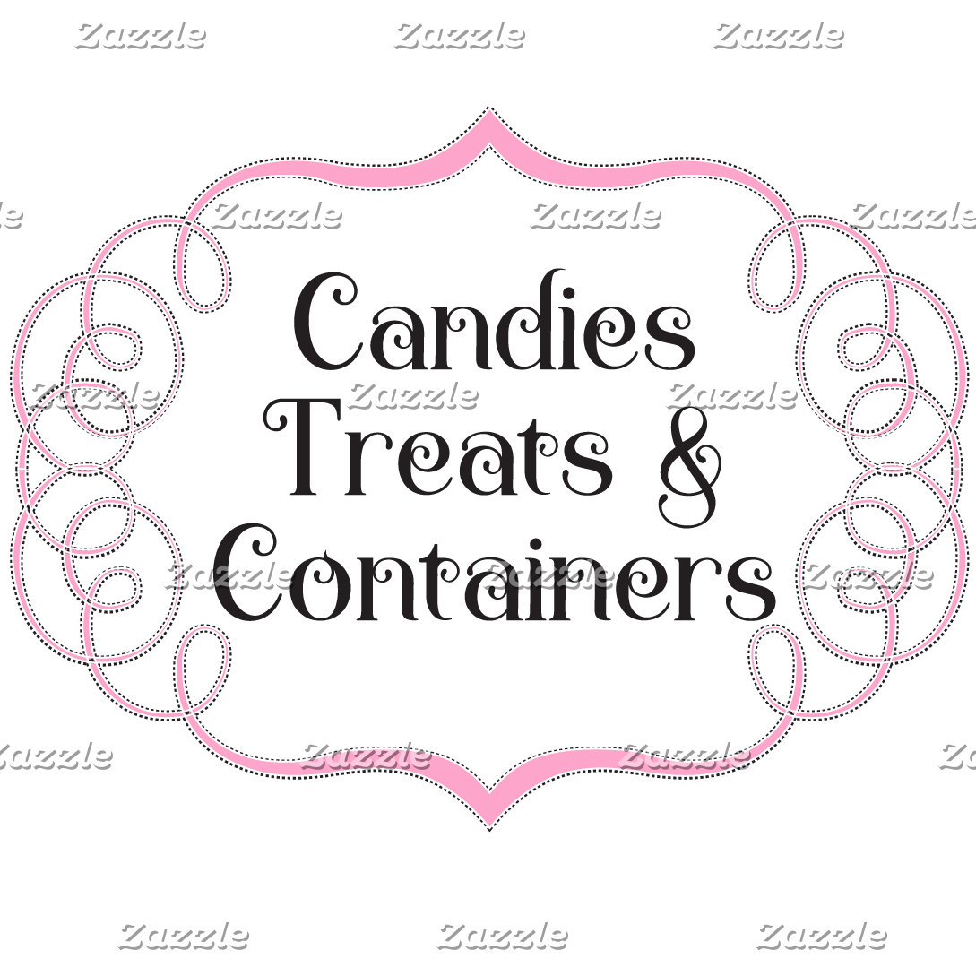 Candies, Treats & Containers