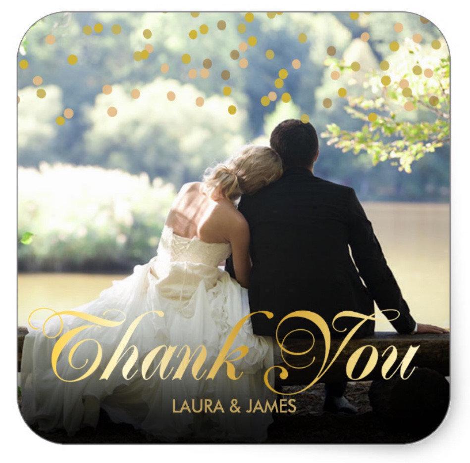 Wedding, Anniversary, Engagement Thank You