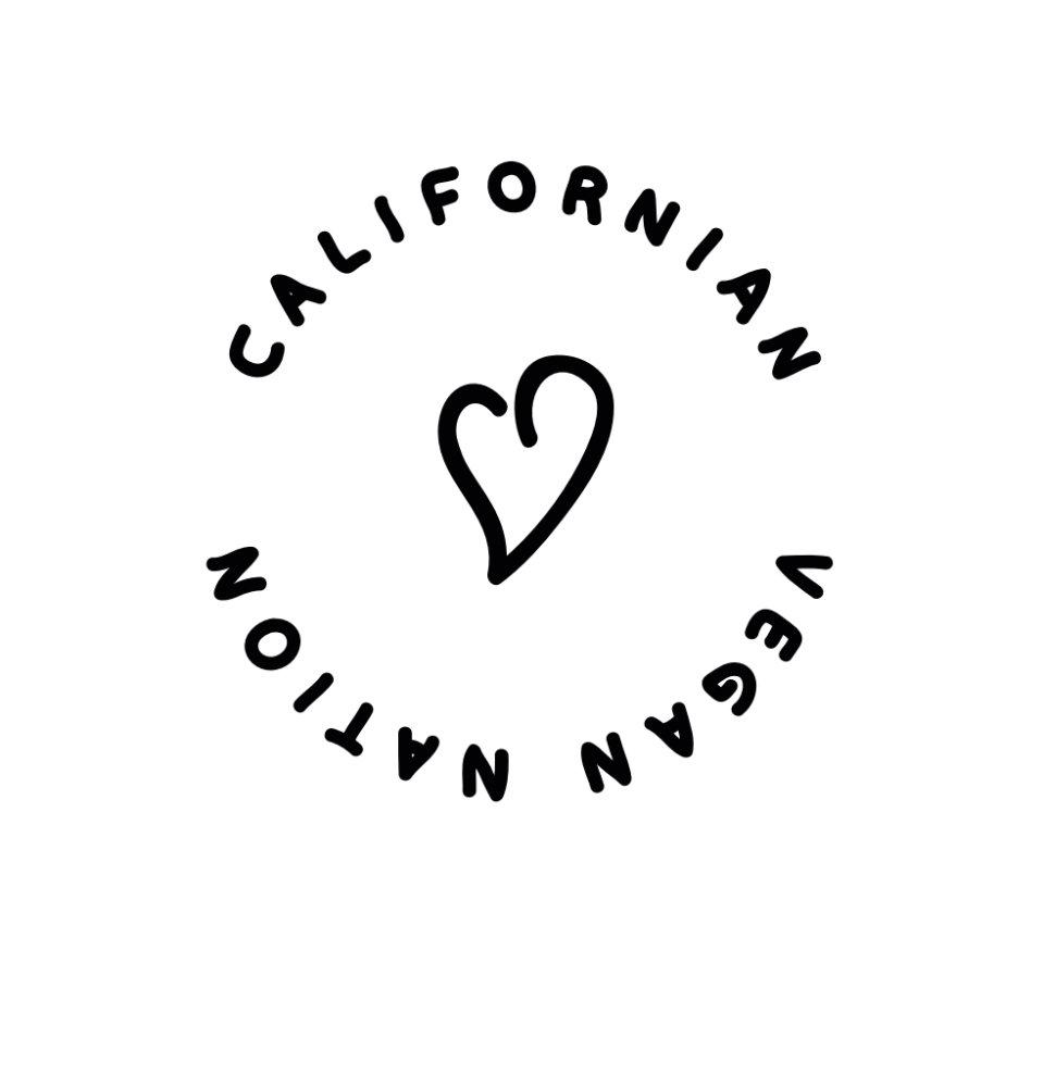 CALIFORNIAN_VEGAN_NATION LOGO PRODUCTS