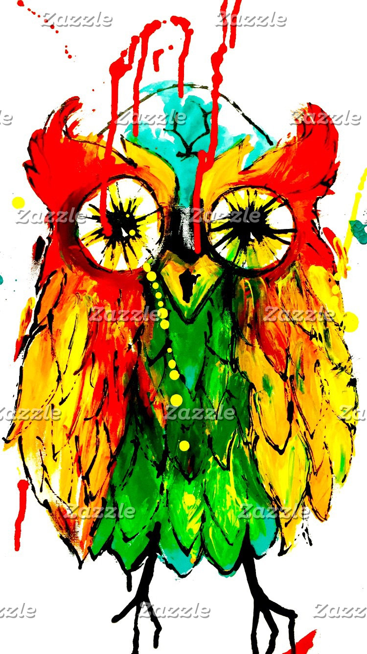 Tattoo ink owl design