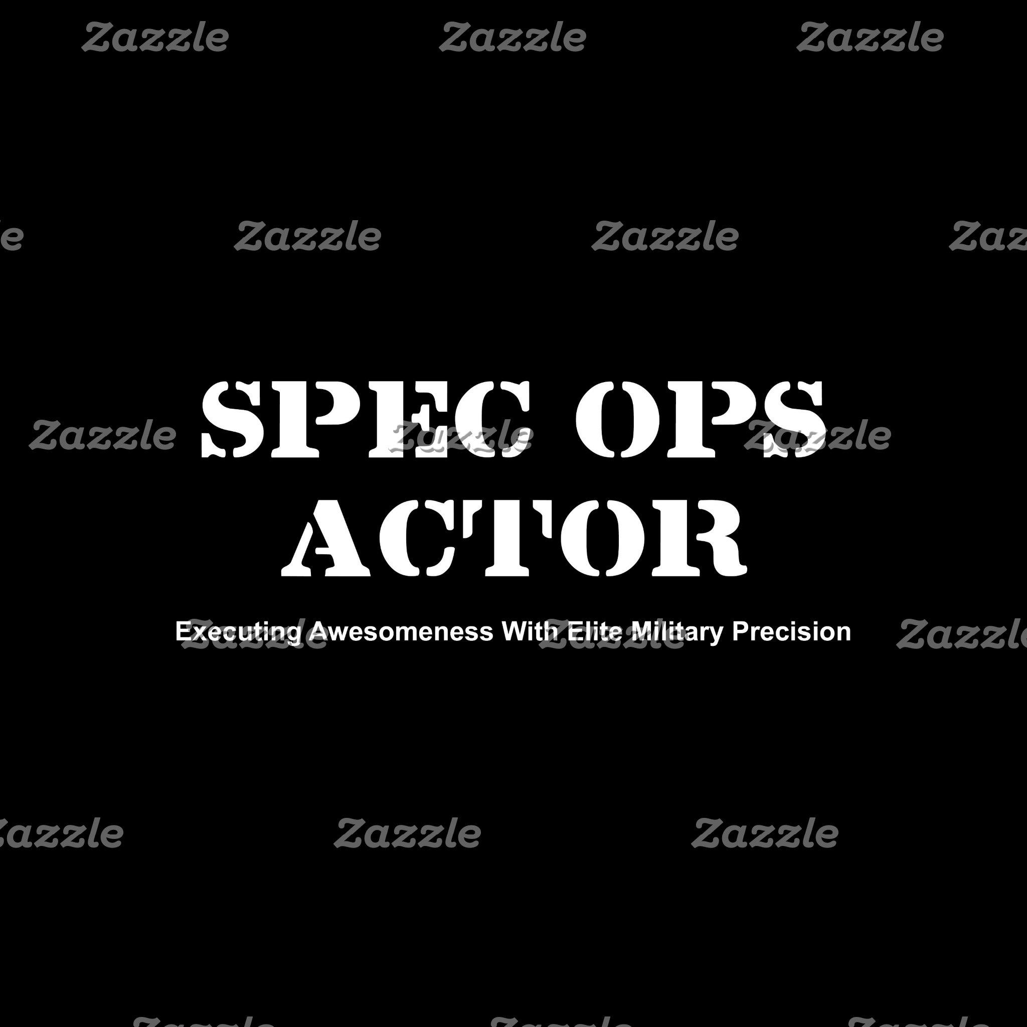 Spec Ops Actor