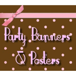 Party Banners, Posters and Flags