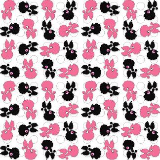 Poodles Black and Pink
