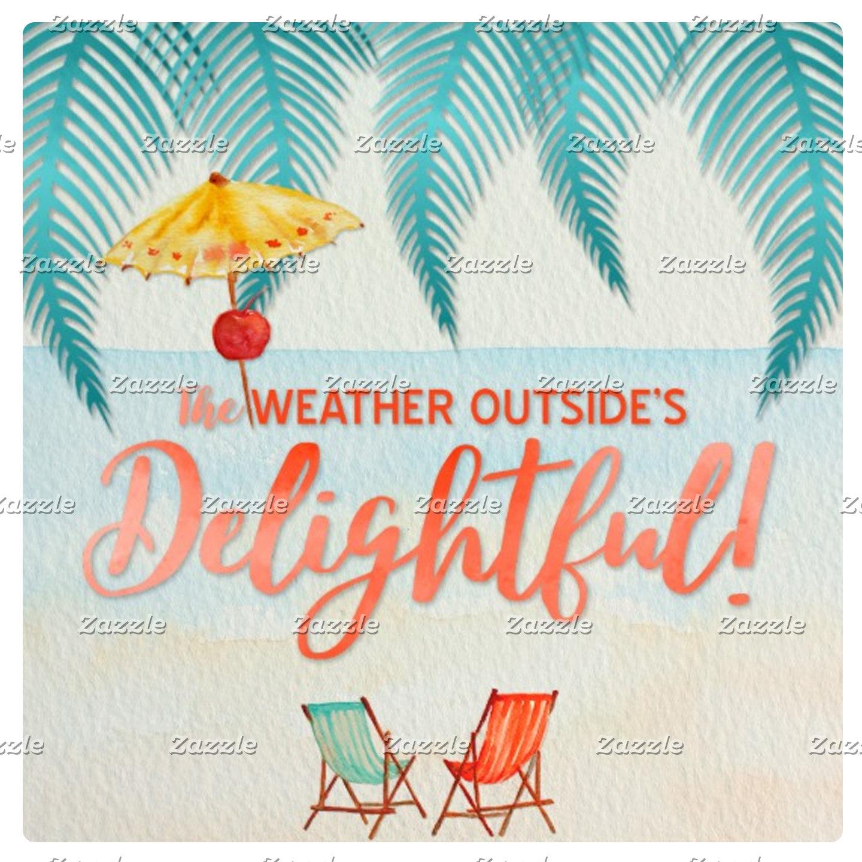 Tropical Holiday Greetings