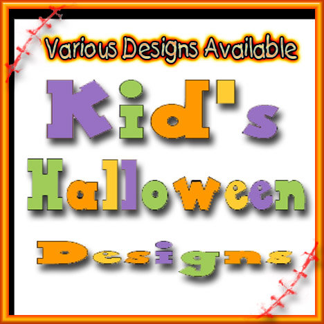 Kid's Halloween Designs