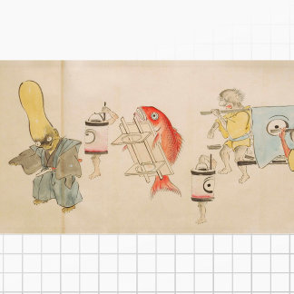 Emaki Scroll Art