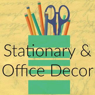 Stationary, Invitations & Office Decor