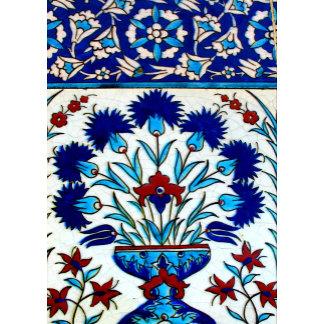 Antique Ottoman Floral Tile Design