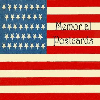 Memorial Postcards