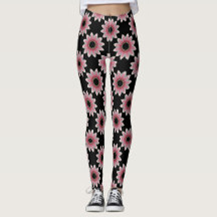 Floral Design Leggings