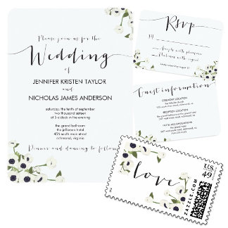 Anemone Flower Wedding
