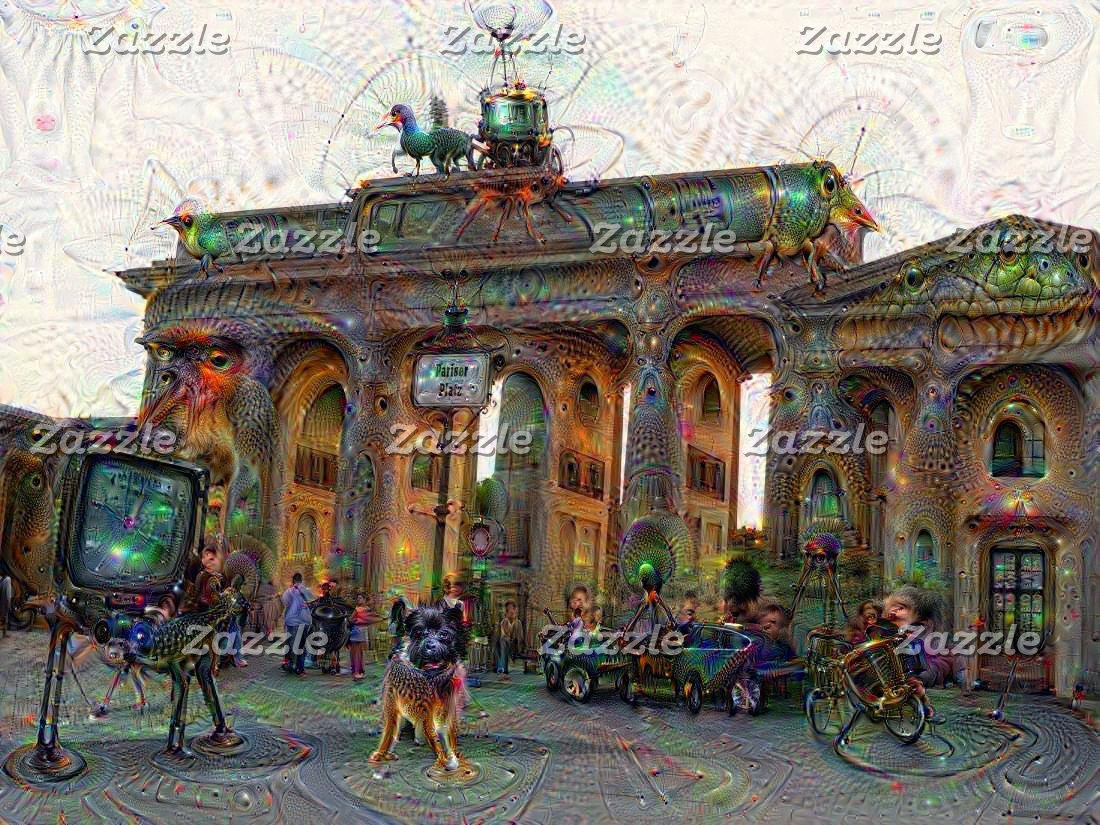 DeepDream Cities & Pictures