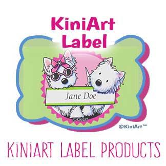 KiniArt Label