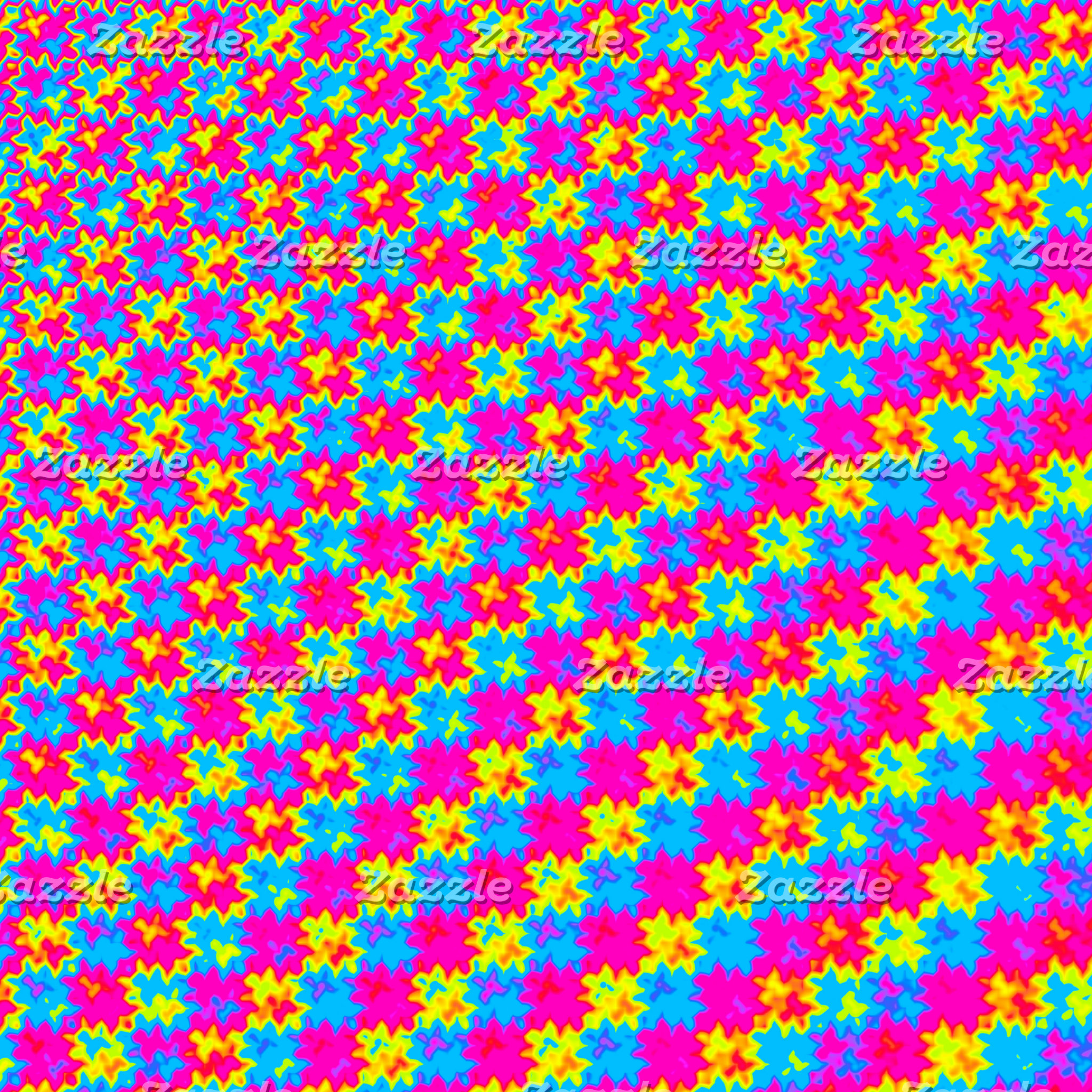 Crazy Yellow and Pink Pattern