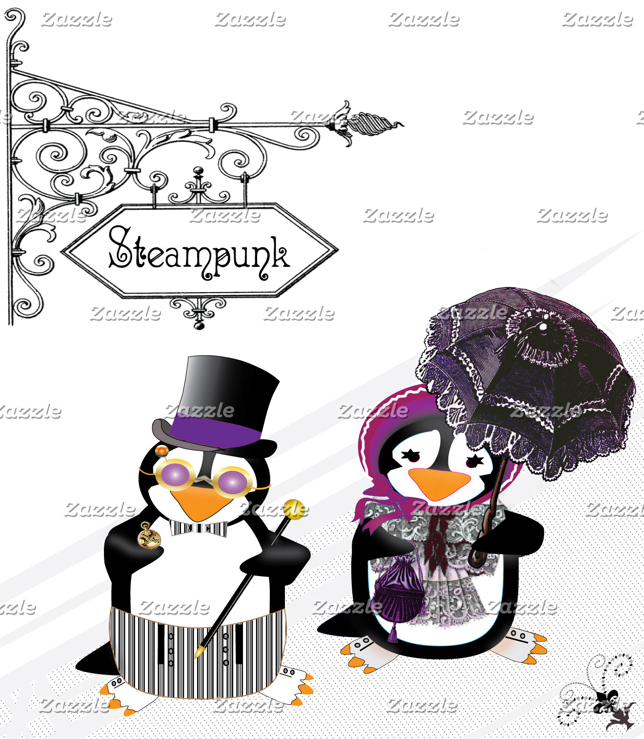 Steampunk Penguins