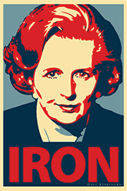 Margaret Thatcher, The Iron Lady