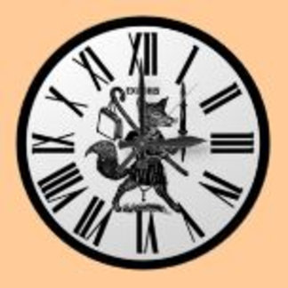 Clocks for Books, Libraries, Literature Types