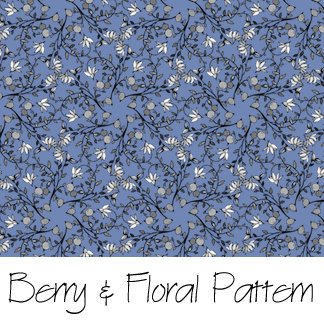 Berry And Floral Pattern