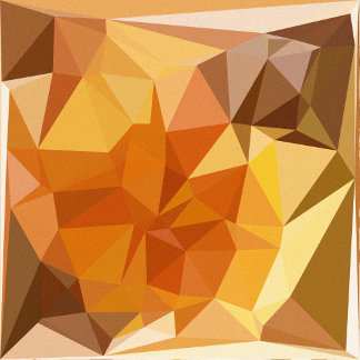 Geometric Patterns   Orange Yellow Triangles