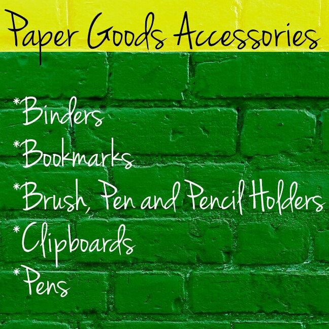 Paper Goods Accessories