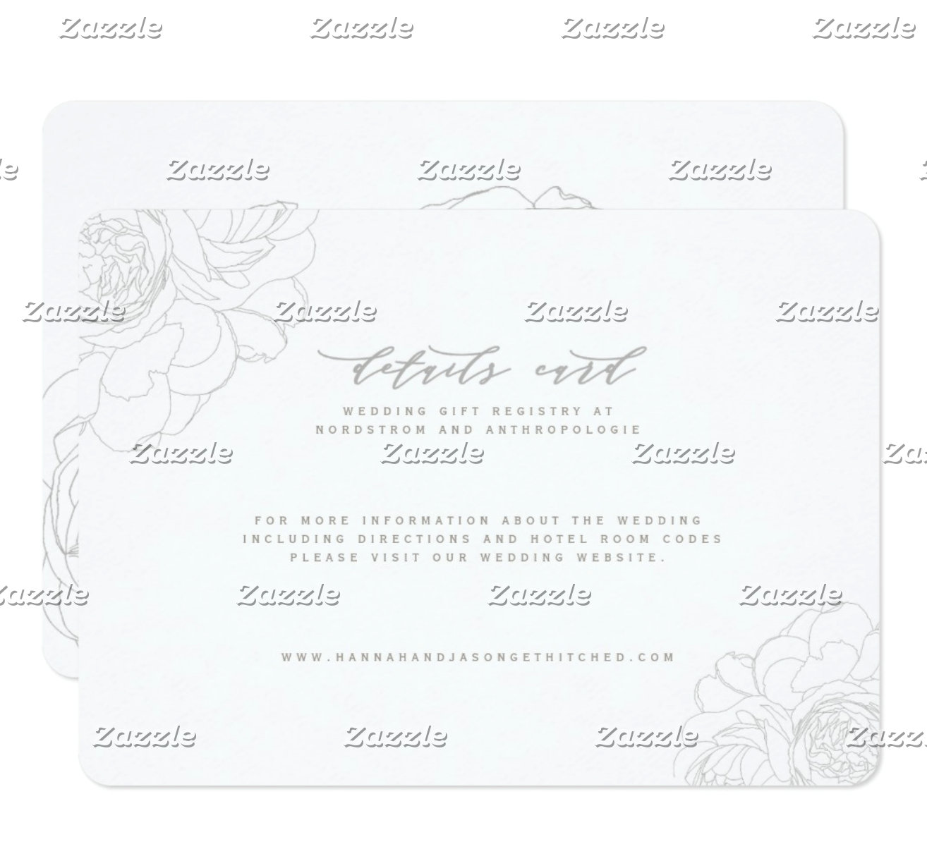 DETAILS CARDS