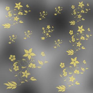 metallic flower
