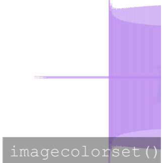 imagecolorset() Designs