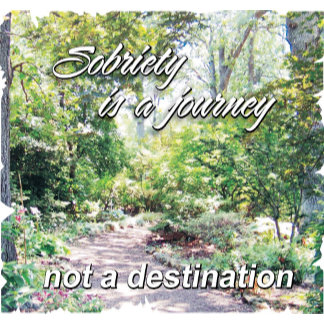 sobriety is a journey