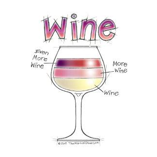 a. WINE, MORE WINE, EVEN MORE WINE