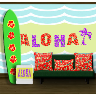 Hawaiian And Tropical Decor
