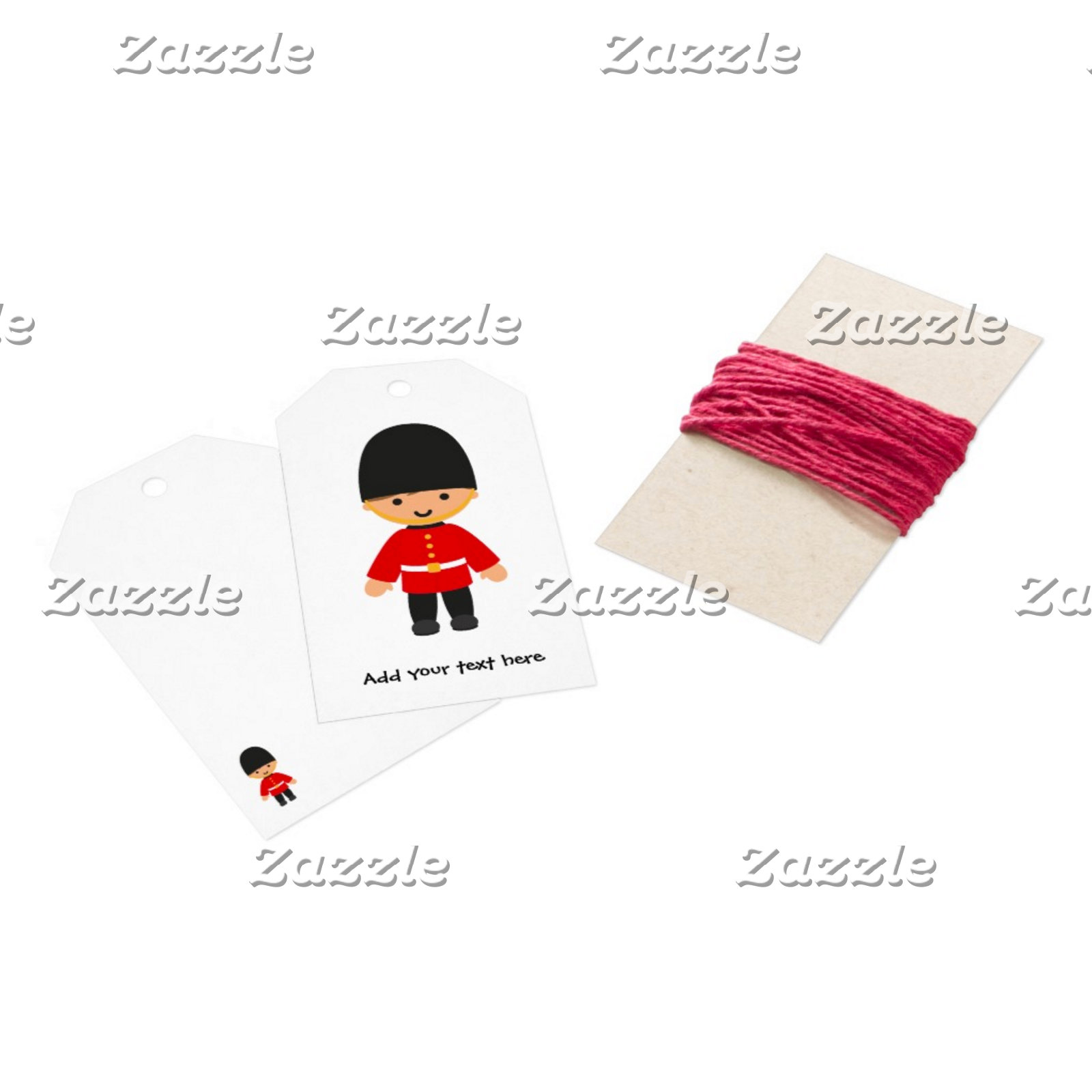 Gift Tags and Ribbon